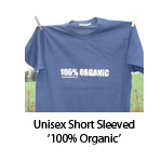 Unisex Short Sleeved '100% Organic'