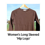 Women's Long Sleeved 'Hip Logo'