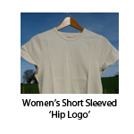 Women's Short Sleeved 'Hip Logo'