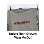 Unisex Short Sleeved 'Wear Me Out'