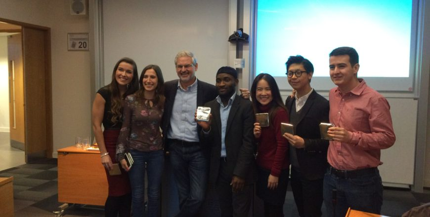 Unilever MBA Challenge week at Exeter University