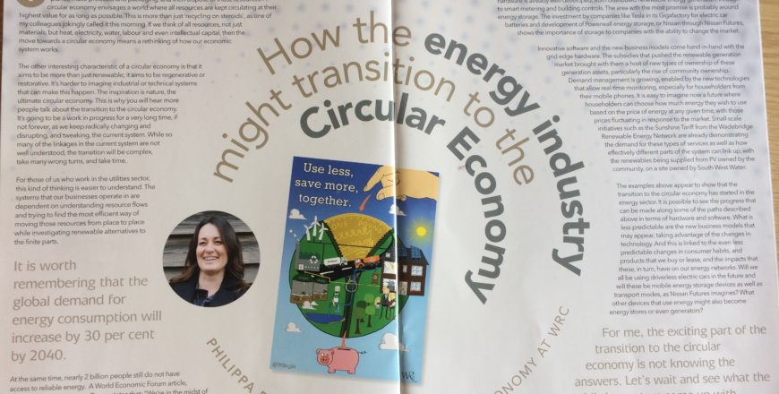 Can the energy industry transition to a circular economy?