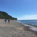 Sea at Branscombe, Devon